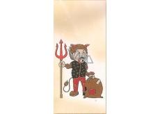 Nekupto Sáček vánoční Čert 18 x 40 cm LA 019