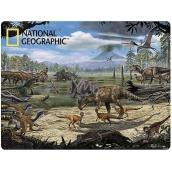 Prime3D pohlednice - Dinosauří bažina 16 x 12 cm