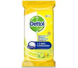 Dettol Citron & Limetka antibakteriální ubrousky na povrchy 32 kusů