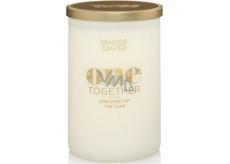 Yankee Candle One Together Miracle Flower - Zázračná květina Décor vonná svíčka velký válec sklo 75 mm Tumbler 2 knoty 566 g