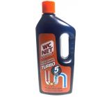 Wc Net Turbo gelový čistič odpadů zprůchodní i beznadějně ucpané odpady 1 l