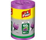 Fino Color Sáčky do odpadkového koše s uchy fialový 60 litrů 59 x 72 cm 13 µ 60 kusů