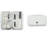 Kellermann 3 Swords Luxusní manikúra White Articial Leather z vysoce kvalitní umělé kůže 7847 P N