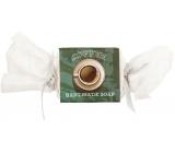 Bohemia Natur Coffee ručně vyráběné toaletní mýdlo s kofeinem a glycerinem bonbon 30 g