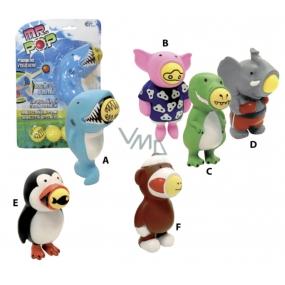 Mr. Pop Střílecí zvířátko slon, krokodýl, prasátko,žrakol, tučňák, medvěd