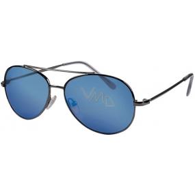 Dudes & Dudettes kategorie 3 sluneční brýle pro děti JK450 modrá skla
