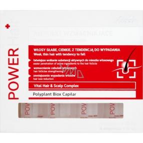 Joanna Power Hair posilující a vyživující sérum proti padání vlasů 4 x 10 ml