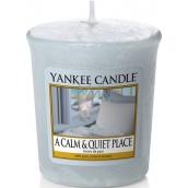 Yankee Candle A Calm & Quiet Place - Klidné a tiché místo vonná svíčka votivní 49 g