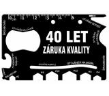 Albi Multinářadí do peněženky 40 Let záruka kvality 8,5 cm x 5,3 cm x 0,2 cm