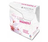 Regina Mandlový olej krém na ruce 60 ml + čisticí mléko 200 ml+ pleťový krém. 45 g ,dárková sada