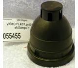 Víčko plastové na skleněné lampy průměr 5,9 cm
