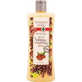 Bohemia Herbs Kofein relaxační krémová koupelová pěna 500 ml