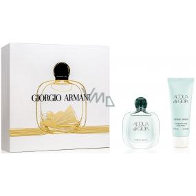 Giorgio Armani Acqua di Gioia parfémovaná voda pro ženy 30 ml + tělové mléko 75 ml, dámská sada
