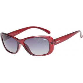 Relax Helena Sluneční brýle R0307C vínové