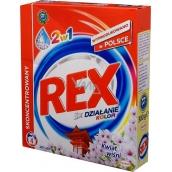 Rex 3x Action Japanese Garden Color 2v1 prací prostředek na barevné prádlo 4 dávky 300 g