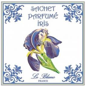 Le Blanc Iris Vonný sáček Kosatec 11 x 11 cm 8 g