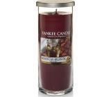 Yankee Candle Moroccan Argan Oil - Marocký arganový olej Décor vonná svíčka velký válec sklo 75 mm 566 g