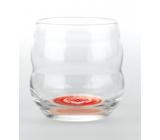 Masaru Emoto Mythos sklenice Velké srdce (Sova / Sdrce) - červená 0,25 l