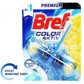 Bref Color Aktiv Lemon Wc blok 50 g