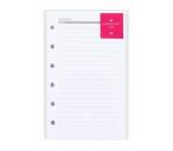 Albi Linkované listy do diáře manažer A6 12,8 x 8,4 x 0,3 cm