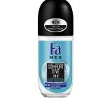 Fa Men Comfort Dive kuličkový deodorant roll-on pro muže 50 ml