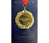 Albi Papírové přání do obálky Přání s medailí - Zaměstnanec roku W