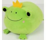 Albi Humorný polštář velký Žába 36 x 30 cm