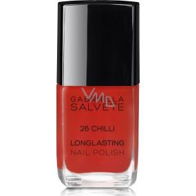 Gabriella Salvete Longlasting Enamel lak na nehty 26 Chilli 11 ml