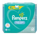 Pampers Fresh Clean vlhčené ubrousky pro děti 4 x 52 kusů