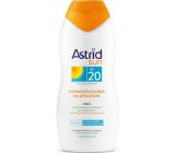 Astrid Sun OF20 hydratační mléko na opalování 200 ml
