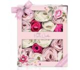 Baylis & Harding Růže, mák a vanilka mýdlový květ do koupele 15 x 5 g, kosmetická sada