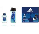 Adidas UEFA Champions League Dare Edition VI toaletní voda pro muže 50 ml + sprchový gel 250 ml, dárková sada