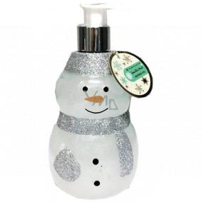 Salsa Collection Shining Star Sněhulák bílý sprchový gel dávkovač 440 ml