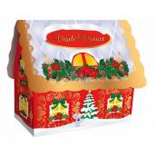 Liran Vánoční balení zeleného čaje Domeček bílý 20 x 2 g