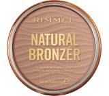 Rimmel London Natural Bronzer bronzující pudr 001 Sunlight 14 g