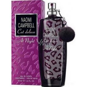 Naomi Campbell Cat Deluxe At Night toaletní voda pro ženy 50 ml