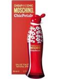 Moschino Cheap And Chic Chic Petals toaletní voda pro ženy 50 ml