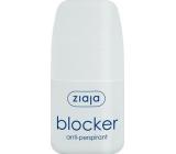 Ziaja Blocker kuličkový antiperspirant deodorant roll-on pro ženy 60 ml
