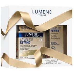 Lumene Complete Rewind SPF15 Intensive Repair denní krém 50 ml + Complete Rewind Intensive Repair oční krém 15 ml, kosmetická sada