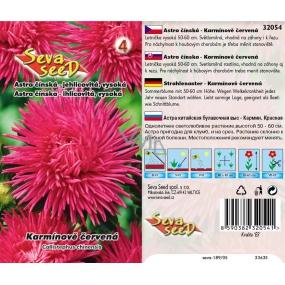 Seva Seed Astra čínská jehlicovitá vysoká Karmínově červená 0,5 g