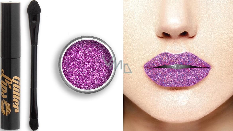 Glitter Lips dlouhotrvající lesk na rty se třpytkami Ultra Glam 3,5 ml