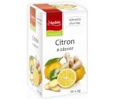 Apotheke Citron a zázvor ovocný čaj 20 nálevových sáčků x 2 g