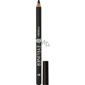 Deborah Milano Eyeliner Pencil tužka na oči 01 Black 1,3 g