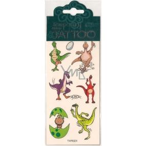 Tetovací obtisky dětské zvířátka T4P023I 7,5 x 15 cm