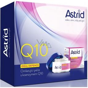 Astrid Ideal Defence Q10 proti vráskám denní krém 50 ml + noční krém 50 ml, kosmetická sada