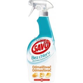 Savo Odmašťovač bez chloru dezinfekční sprej 700 ml