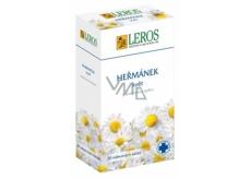 Leros Heřmánek květ bylinný čaj protizánětlivý, dezinfekční, uklidňující 20 x 1 g