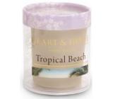 Heart & Home Tropická pláž Sojová vonná svíčka bez obalu hoří až 15 hodin 53 g
