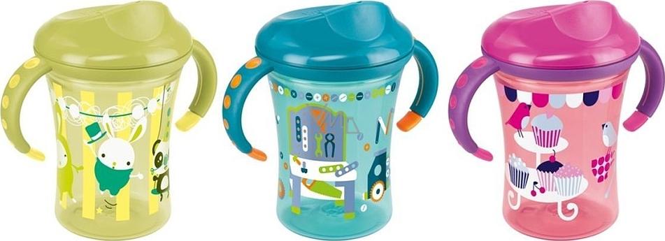 Nuk Easy Learning Cup plastové pítko 8+ měsíců hrnek na učení 2 150 ml