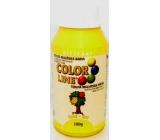 Kittfort Color Line tekutá malířská barva Žlutá 100 g